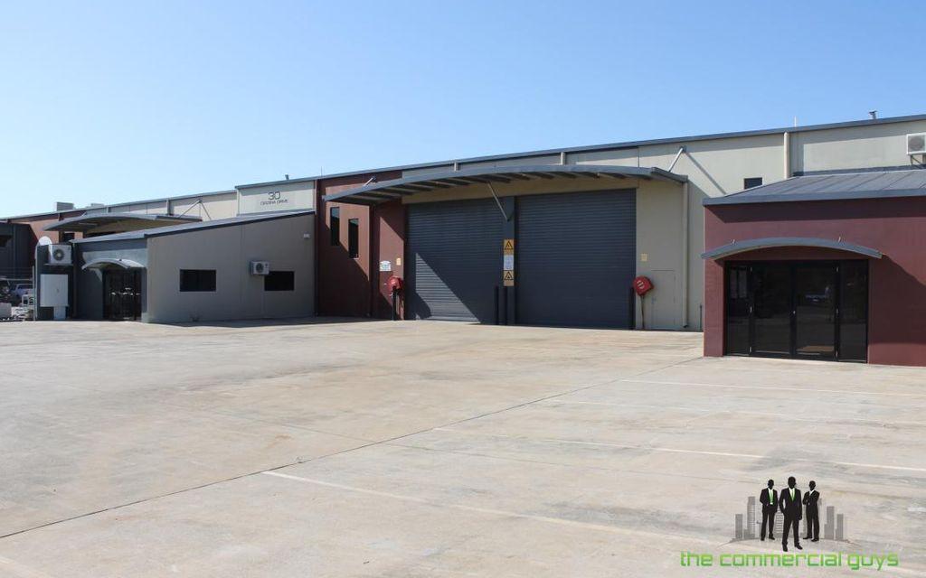 Warehouse Backing onto Bribie Island Road