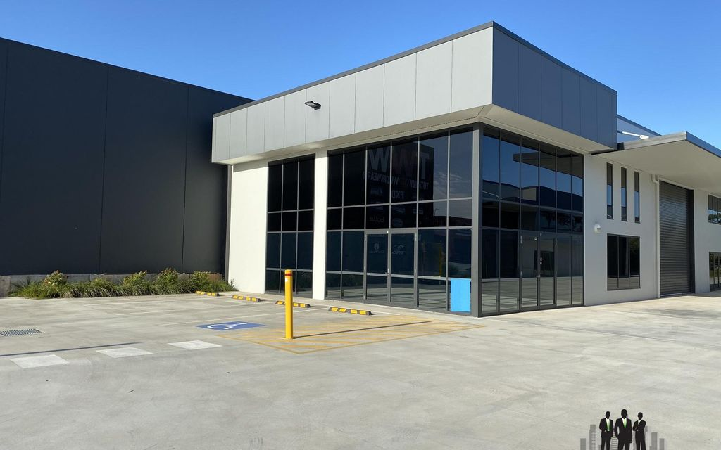 Front of Complex Showroom/Warehouse