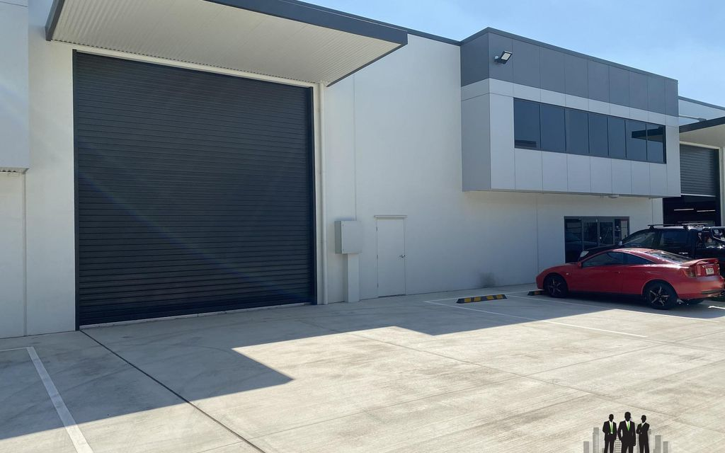Newly Constructed Modern Industrial Warehouse