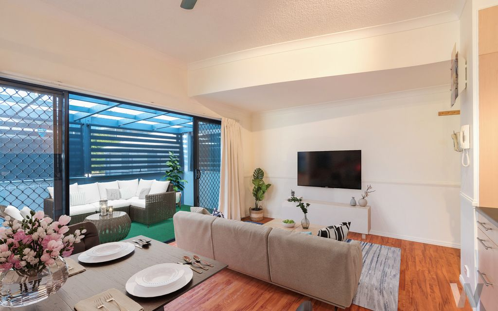Ultra-private ground floor apartment living in UQ precinct