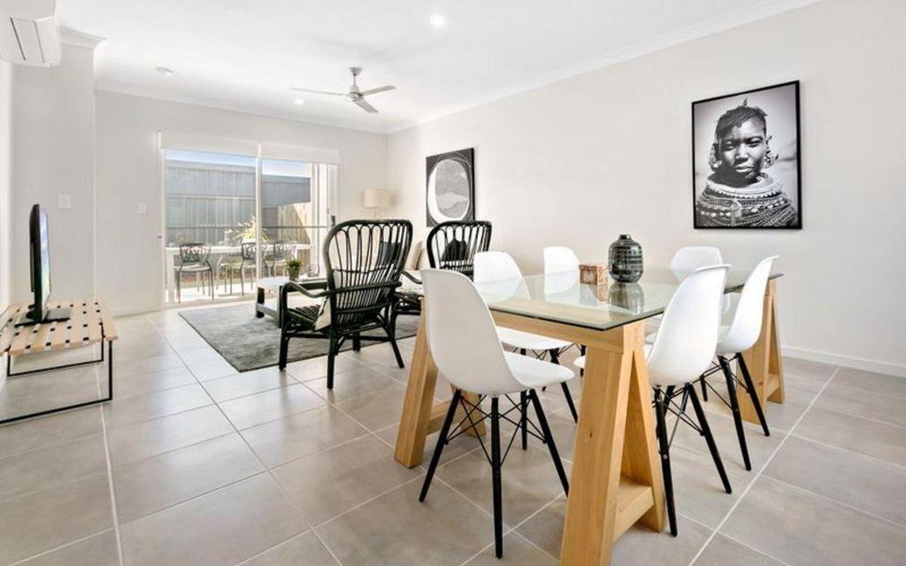 Modern Terrace style living