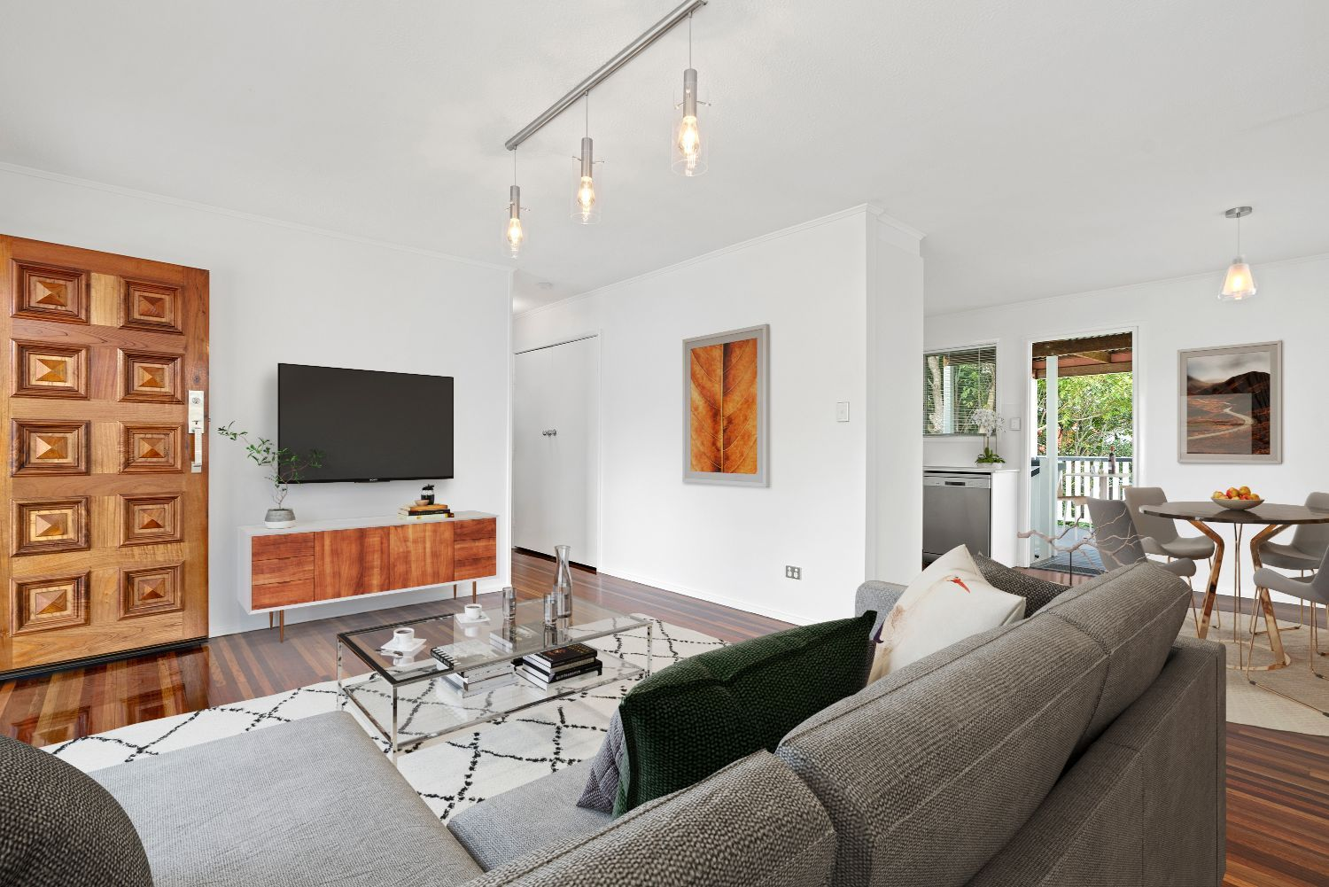 Light-filled and renovated home