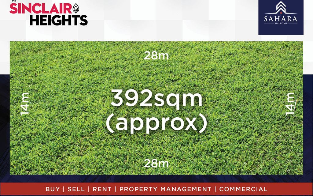 Own a prestigious Piece of Land – Sinclair Heights !!