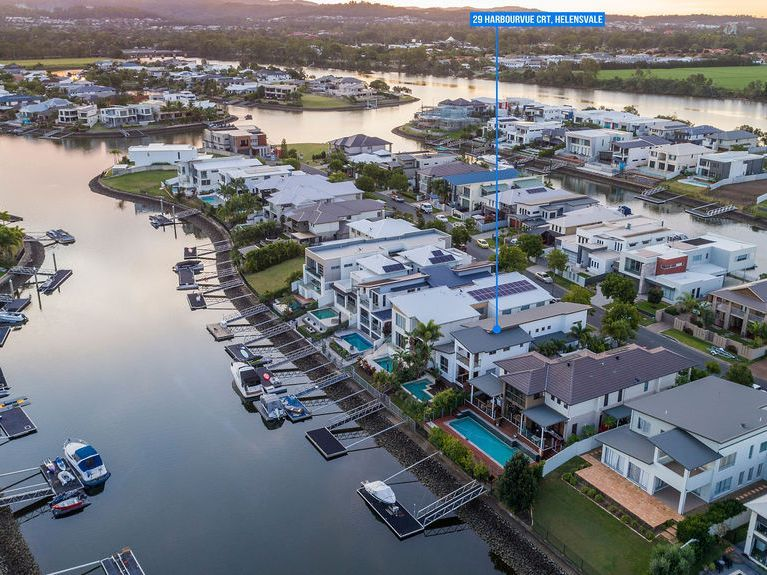 Modern, Proper Waterfront with pontoon & NO body corp fees – Incredible Buying!