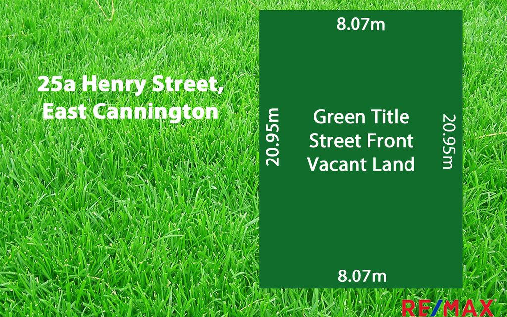 Green Title 169sqm Street Front Land