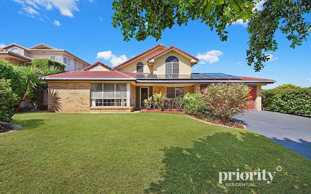 Large family home in exclusive estate