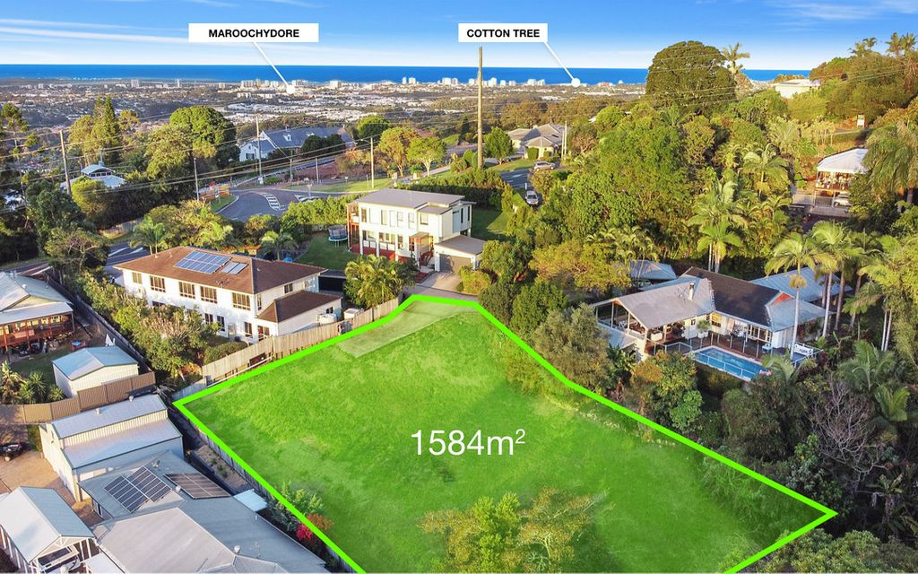 Huge private 1584m2 block with room for house & granny flat!