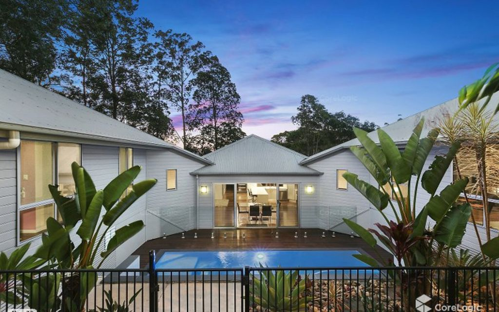 Effortless entertainer with pool and private bush surrounds