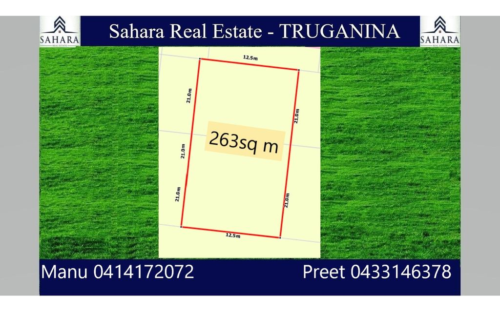 263 sqm Land in Truganina