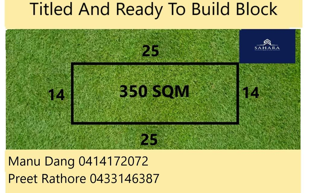 350sq m Titled Land for sale in Albright !!