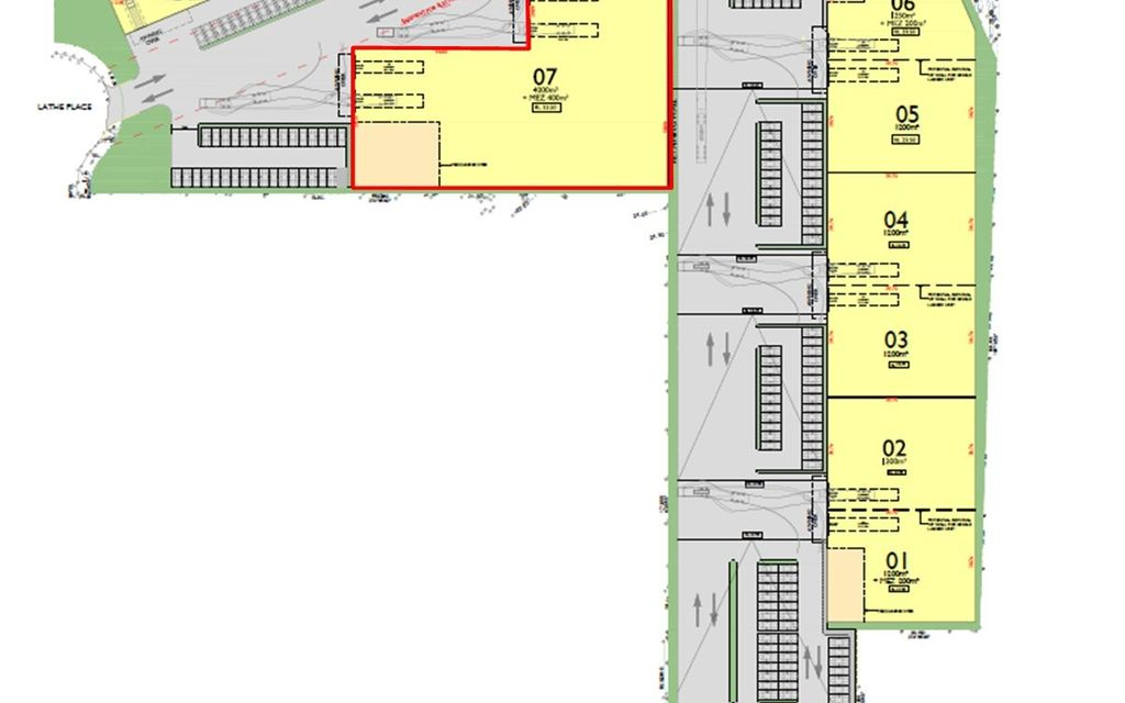 4,000SQM WAREHOUSE IN BRAND NEW INDUSTRIAL COMPLEX