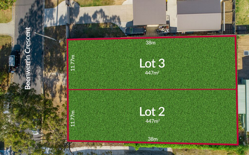 PRIME LAND IN PERFECT LOCATION (LOT 2: Proposed 16b Beenwerrin Crescent Capalaba)