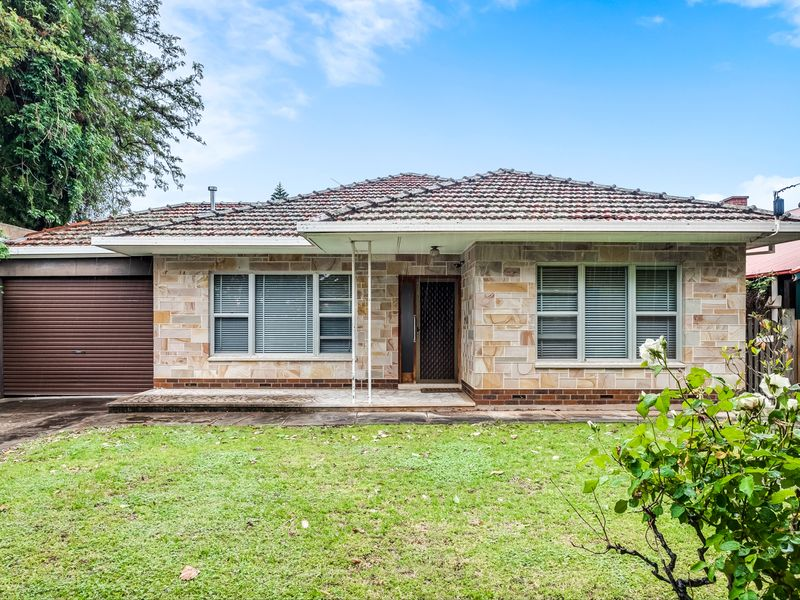 An original 1950's home on a large block with north facing rear yard.