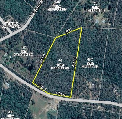 good COUNTRY 25 ACRES  (10.01ha) LARGE HOUSE SITE o/a  $75,000