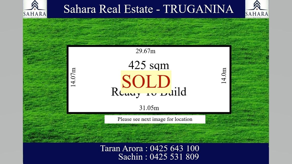425 sqm Titled and Ready to Build