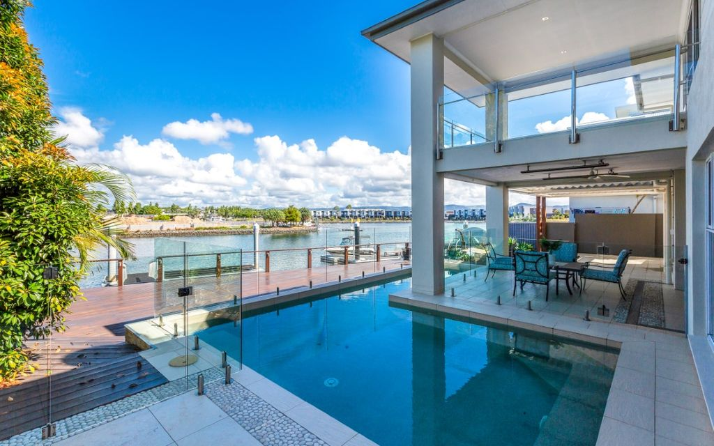 Waterfront Entertainer with Wide Canal Frontage