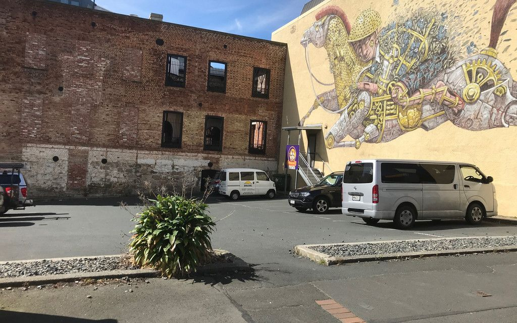 Car Park For Sale – Princes Street, Dunedin