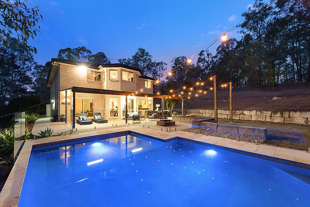 ACREAGE PARADISE WITH SUPERB OUTDOOR LIVING