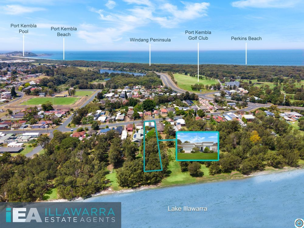 Almost Half An Acre Backing On To Lake Illawarra