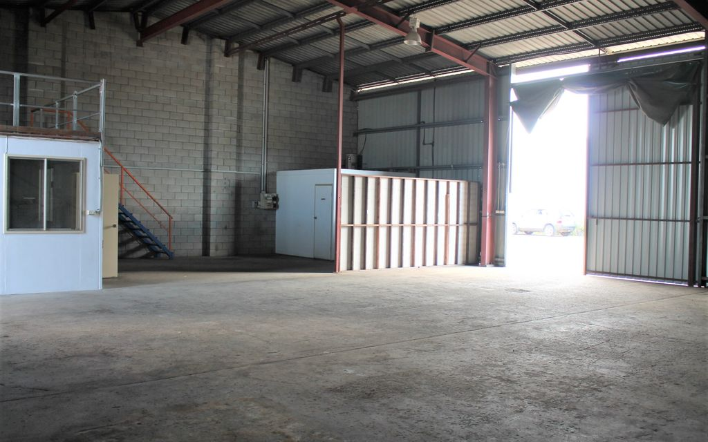 High Impact Industrial Shed – Rear Tenancy