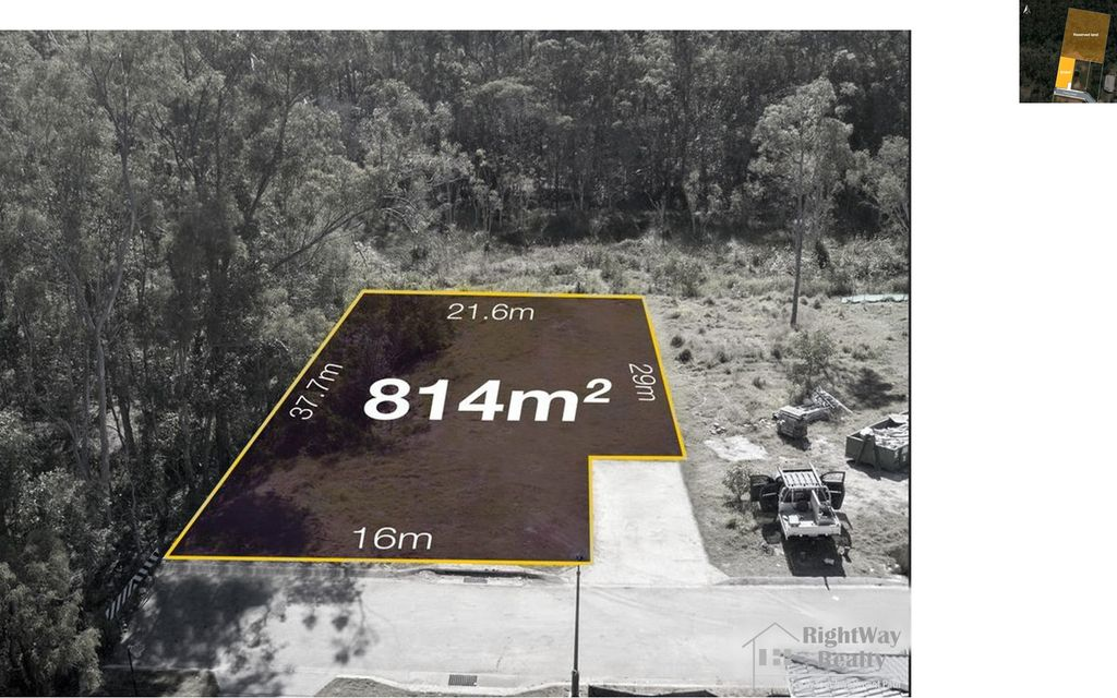 814 sqm residential land – NOW UNDER CONTRACT BY RIGHTWAY REALTY