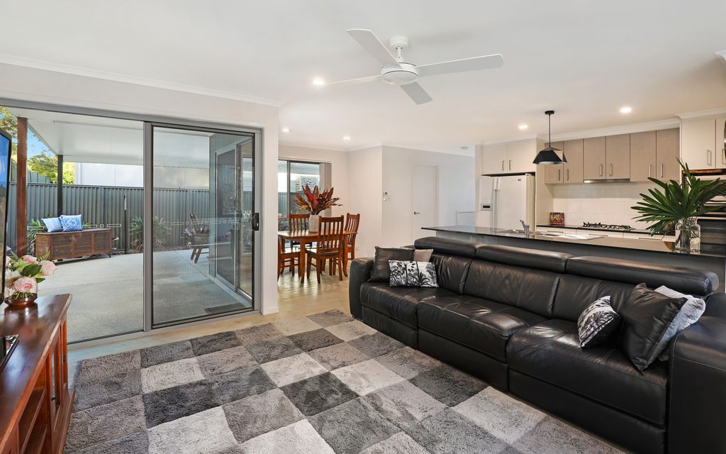 Sophisticated home offering spacious open plan living and blissful views from private, elevated parcel