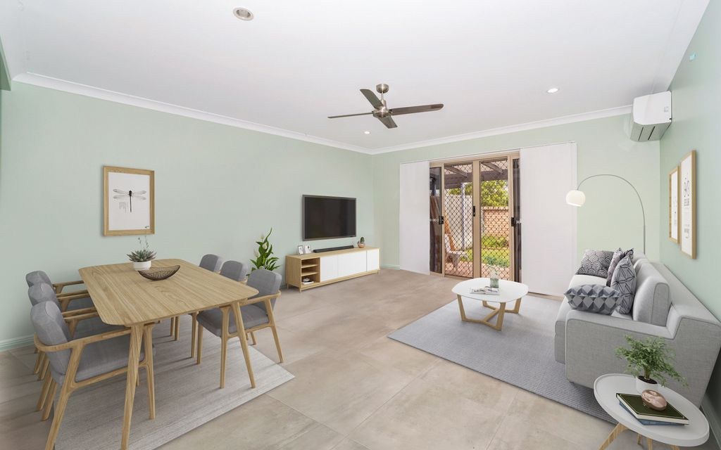 Recently renovated townhouse, centrally located.