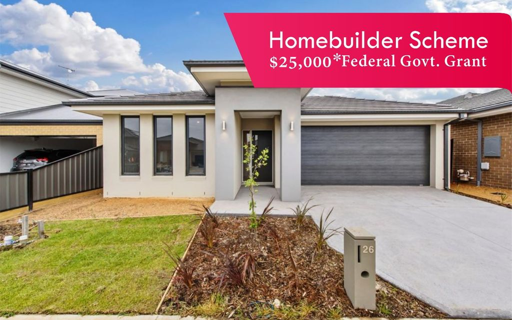 'Move into your completed home early next year plus save $25K with HomeBuilder Grant'
