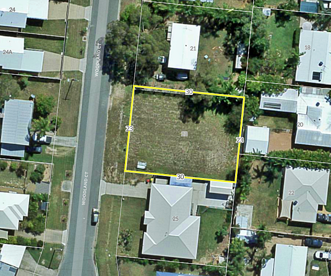Fully fenced 700 sqm residential allotment in a well-established suburb of Deeragun awaits a dream home.