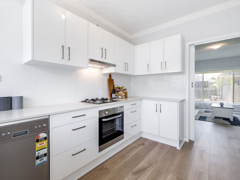SHINY AND NEW, TWO BEDROOM UNIT