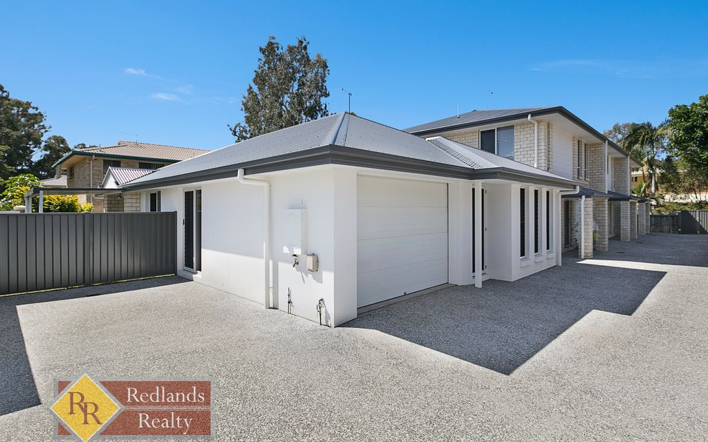 LEASED! As new  townhouse in a small block of 4 in lovely Wellington Point.