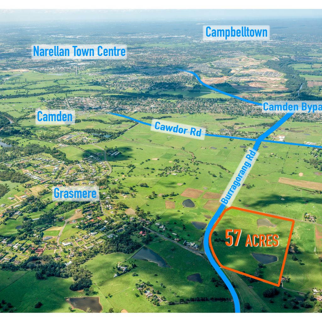 Exceptional 57 acres only minutes to Camden