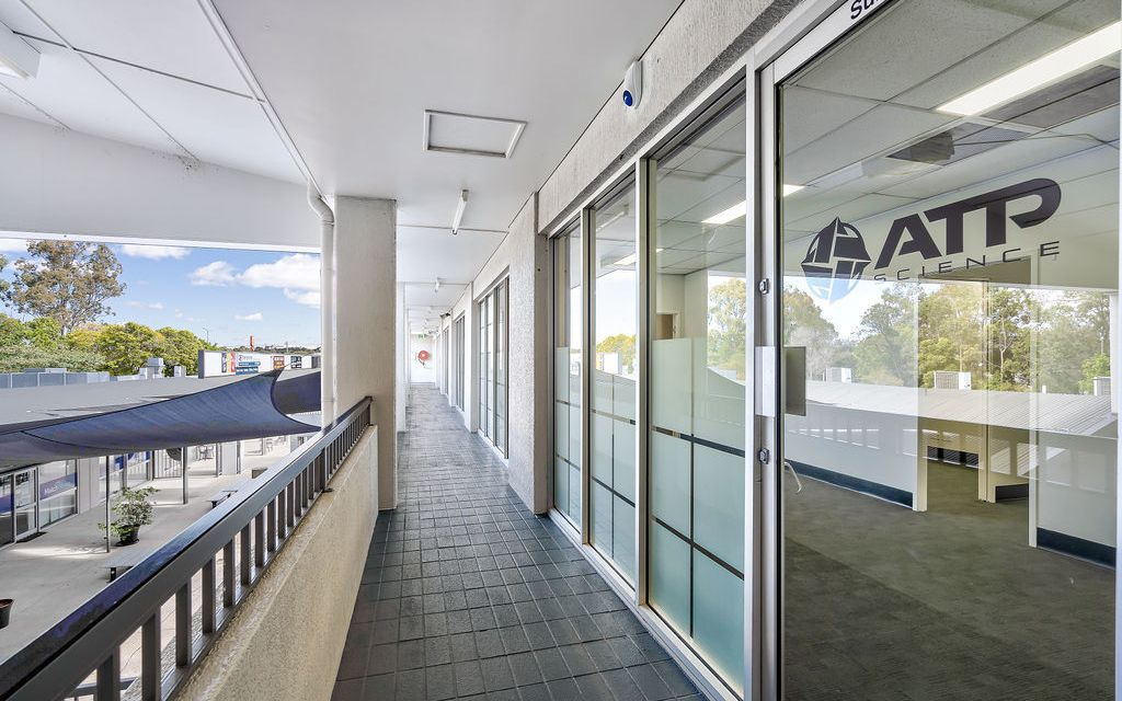 Prime office suites with Modernized ground floor