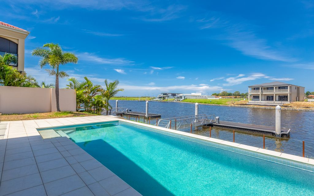 IMMACULATELY PRESENTED WATER FRONT HOME