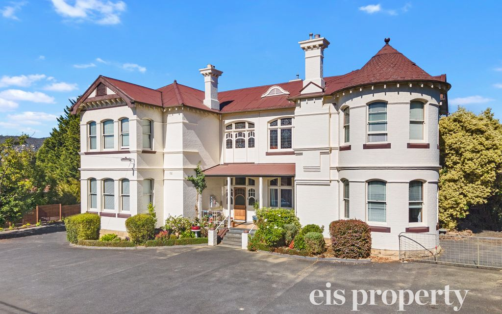 Consider how you might maximise the potential of this unique, historic mansion in the heart of Sandy Bay