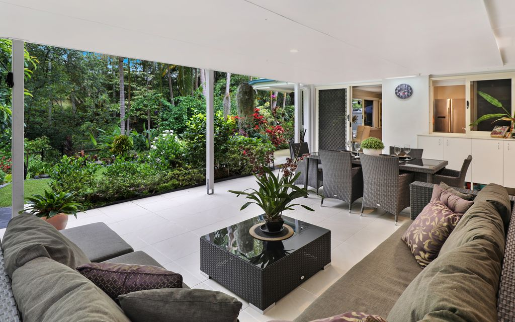 Enjoy the ultimate family home with beautiful rainforest backdrop