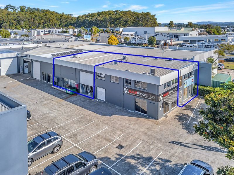 Prime Kortum Drive Facing Showroom & Warehouse with Separate 1st Floor Offices
