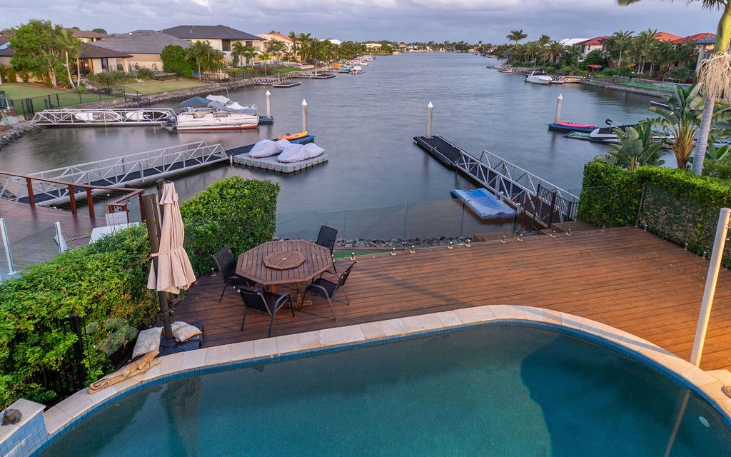 Spacious Family Home With Spectacular Wide Water Views