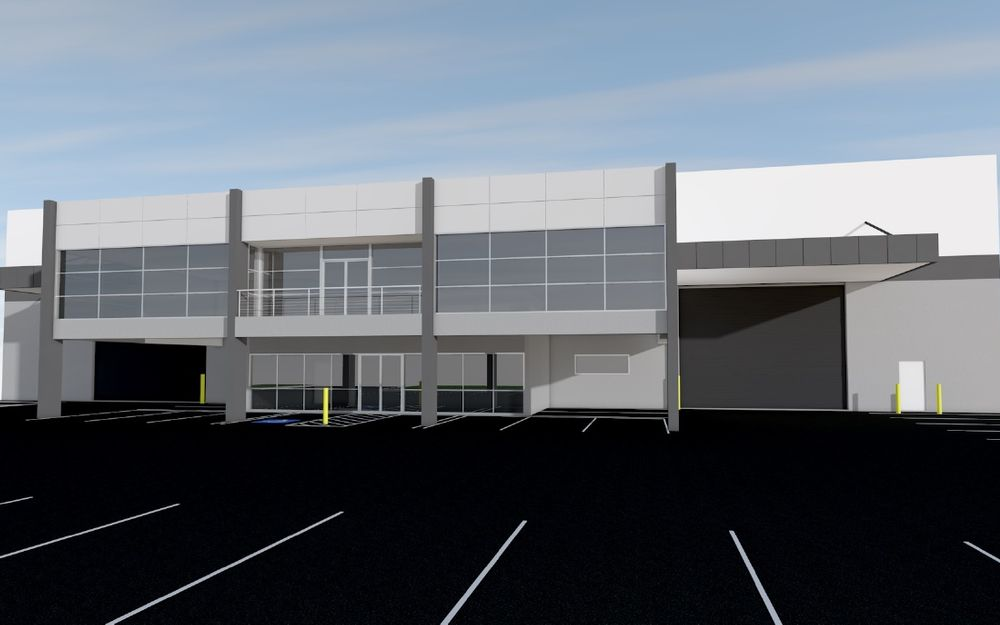 Freestanding Warehouse to be built