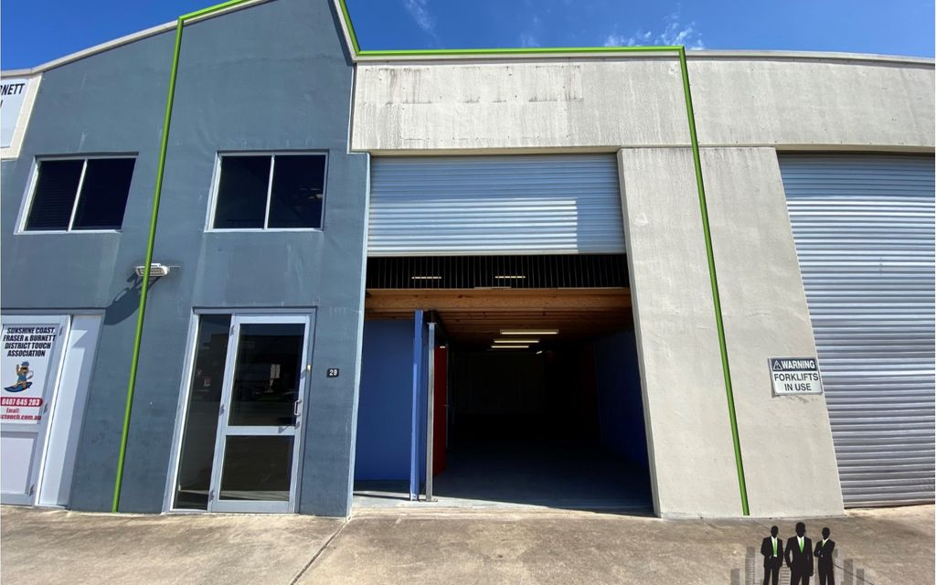 Warehouse With Street Frontage