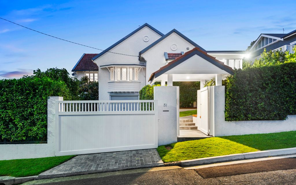 Elegant Contemporary Brick Home in the Heart of Clayfield
