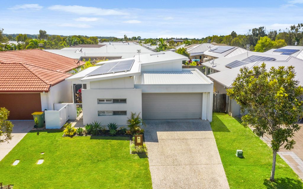 Architecturally designed, four-bedroom home opposite bushland!