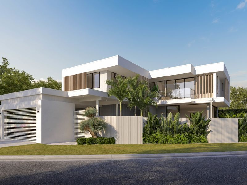Outstanding Designer Family Home Embracing Burleigh Heads Iconic Beauty & Relaxed Lifestyle