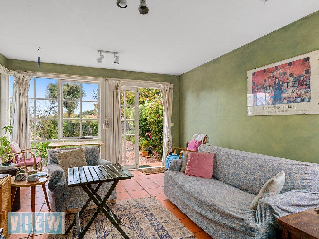 Victorian Terrace Living Room View Australia Quintessential Brick Conjoined Victorian Terrace
