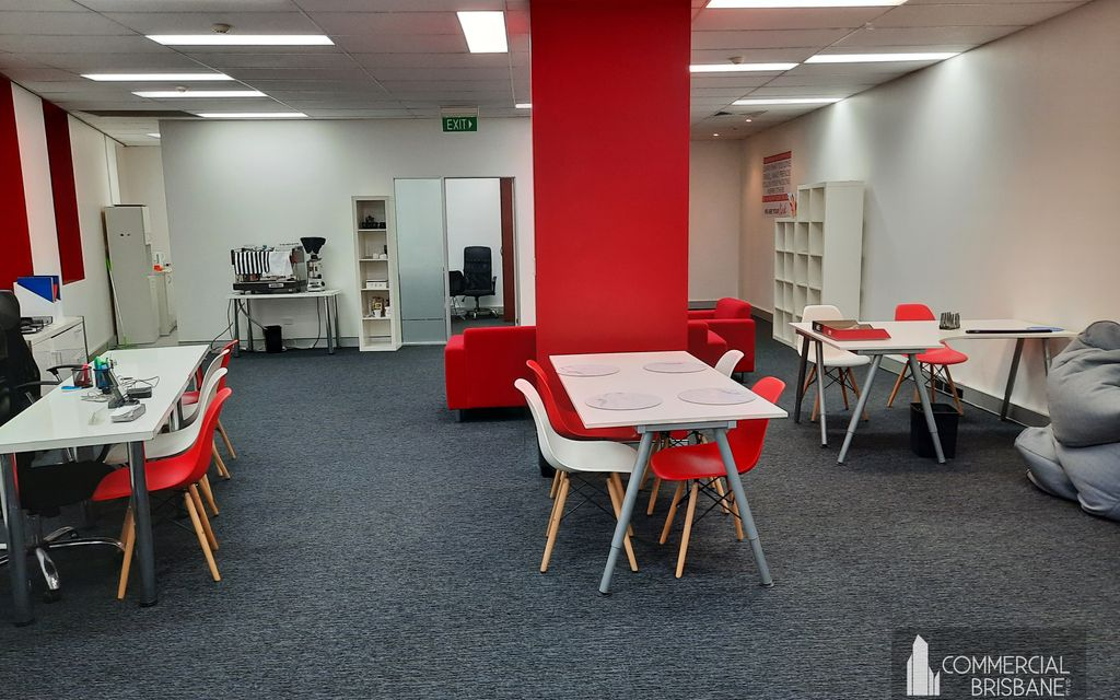 Open Plan Office with Meeting Room