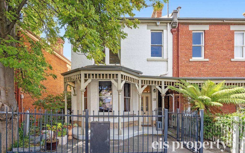 An 1880's Victorian Era Historic Terrace House