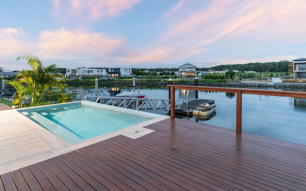 North Facing Family Waterfront Home
