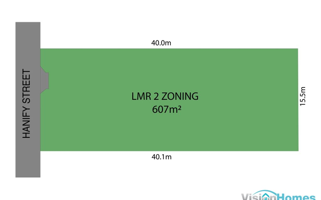LMR2 Land – 607m2 ready to build