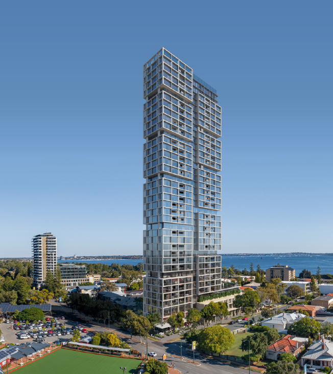 The Future Landmark in South Perth