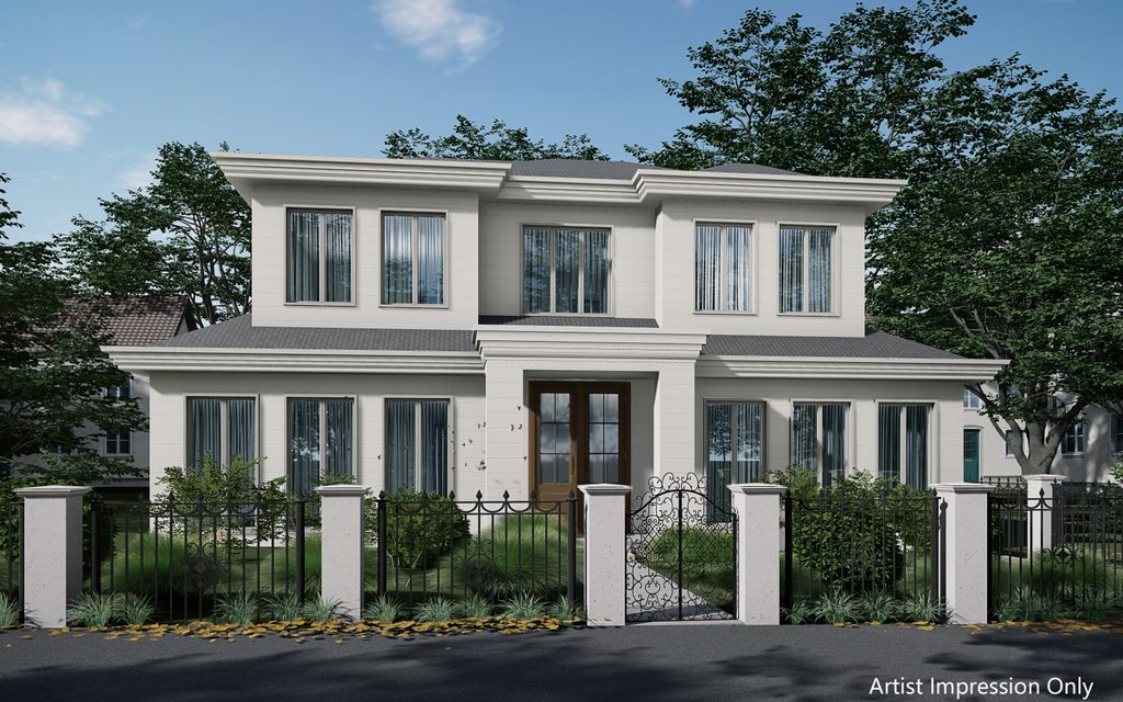 Luxury French Provincial Dream Town Residences